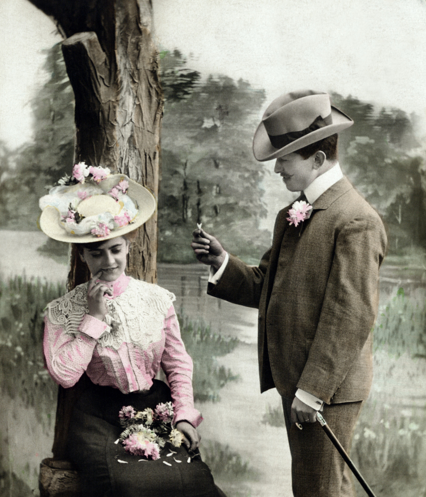 history of romance: Traditional wedding anniversary gifts per year